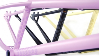 The new Deity streetsweeper frame