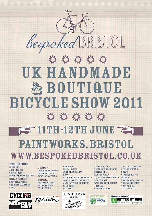 BespokedBristolBib1 Bespoked Bristol Handmade Bicycle Show 2011