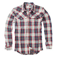 111m m509 1825 banjo western shirt aurora Howies Clothing
