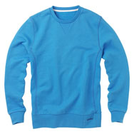 111m msk3 1835 utility crewsweat blue Howies Clothing